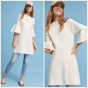 NWOT Anthropologie Moth Bell Sleeve Sweater Dress